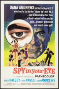 "Movie Posters:Adventure, Spy in Your Eye (American International, 1966). One Sheet (27"" X41""). Adventure.. ..."
