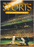 """Baseball Collectibles:Publications, 1954 """"Sports Illustrated"""" Magazine First Issue.. ..."""