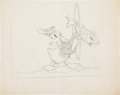 Original Comic Art:Miscellaneous, Donald Duck Good Housekeeping Illustration PreliminaryDrawing Original Art (Disney, 1936)....