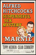 "Movie Posters:Hitchcock, Marnie (Universal, 1964). One Sheet (27"" X 41""). Hitchcock.. ..."
