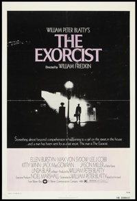 "The Exorcist (Warner Brothers, 1974). One Sheet (27"" X 41""). Horror"