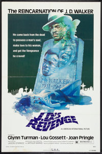 "J.D.'s Revenge (American International, 1976). One Sheet (27"" X 41""). Blaxploitation"