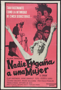 """The Witches (United Artists, 1967). Argentinean Poster (29"""" X 43""""). Drama"""