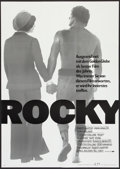 """Movie Posters:Sports, Rocky (United Artists, 1976). German A1 (23.25"""" X 33""""). Sports.. ..."""