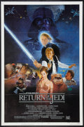 "Movie Posters:Science Fiction, Return of the Jedi (20th Century Fox, 1983). One Sheet (27"" X 41"")Style B. Science Fiction.. ..."