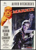 "Movie Posters:Hitchcock, Marnie (Universal International, 1964). German A1 (23.5"" X 33"").Hitchcock.. ..."