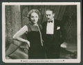 "Movie Posters:Romance, Marlene Dietrich and Adolphe Menjou in ""Morocco"" (Paramount, 1930). Still (8"" X 10""). Romance.. ..."