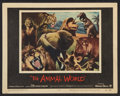 """Movie Posters:Documentary, The Animal World (Warner Brothers, 1956). Lobby Card Set of 8 (11"""" X 14"""") and Pressbook (Multiple Pages)(11"""" X 17""""). Documen... (Total: 9 Items)"""