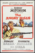 "Movie Posters:War, The Angry Hills (MGM, 1959). One Sheet (27"" X 41"") and Pressbook(Multiple Pages) (12"" X 17""). War.. ... (Total: 2 Items)"
