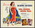 """Movie Posters:War, The Angel Wore Red (MGM, 1960). Half Sheet (22"""" X 28"""") Style B.War.. ..."""