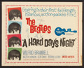 "Movie Posters:Rock and Roll, A Hard Day's Night (United Artists, 1964). Half Sheet (22"" X 28"").Rock and Roll.. ..."
