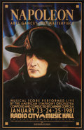 "Movie Posters:War, Napoleon (Film Society of Lincoln Center, R-1981). Poster (24.5"" X38""). War.. ..."