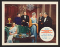 """Movie Posters:Hitchcock, The Paradine Case (Selznick, 1948). Autographed Lobby Card (11"""" X14""""). Hitchcock.. ..."""