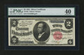 Large Size:Silver Certificates, Fr. 246 $2 1891 Silver Certificate PMG Extremely Fine 40....