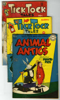 "Golden Age (1938-1955):Funny Animal, Miscellaneous Golden Age Funny Animal Comics Group - Davis Crippen(""D"" Copy) pedigree (Various Publishers, 1946-51).... (Total: 7)"