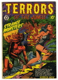 Golden Age (1938-1955):Horror, Terrors of the Jungle #18 (Star, 1952) Condition: VG....