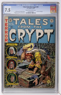 Golden Age (1938-1955):Horror, Tales From the Crypt #29 (EC, 1952) CGC VF- 7.5 Cream to off-whitepages....