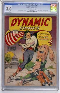 Dynamic Comics #1 (Chesler, 1941) CGC GD/VG 3.0 Off-white to white pages