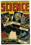 Golden Age (1938-1955):Science Fiction, Science Comics #1 (Export Publication Ent., 1951) Condition:FN+....
