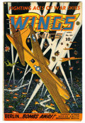 Golden Age (1938-1955):War, Wings Comics #44 (Fiction House, 1944) Condition: VG+....