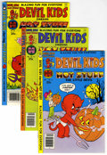 Bronze Age (1970-1979):Cartoon Character, Devil Kids/Casper Strange Ghost Stories File Copy Group (Harvey,1975-80) Condition: Average NM.... (Total: 11)