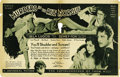 """Movie Posters:Horror, Murders in the Rue Morgue (Universal, 1932). Herald (8.25"""" X 10.5"""")...."""