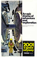 "Movie Posters:Science Fiction, 2001: A Space Odyssey (MGM, 1968). One Sheet (27"" X 41"") StyleC...."
