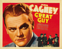 """Great Guy (Grand National, 1936). Title Lobby Card (11"""" X 14"""")"""