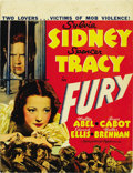 "Movie Posters:Crime, Fury (MGM, 1936). Window Card (14"" X 22"")...."