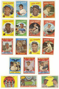 Baseball Cards:Lots, 1959 Topps Baseball Group Lot of 623. A full seventy-one of theover six hundred cards in the group are from the more scarce...