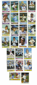 Autographs:Sports Cards, 1979 Topps Baseball Signed Cards Group Lot of Over 400. From the'79 Topps baseball issue we see this huge assortment of si...