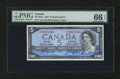 Canadian Currency: , BC-39aA $5 1954. ...