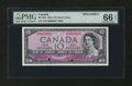 Canadian Currency: , BC-32S $10 1954 Devil's Face Specimen. ...