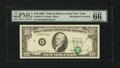 Error Notes:Shifted Third Printing, Fr. 2027-B $10 1985 Federal Reserve Note. PMG Gem Uncirculated 66 EPQ.. ...