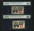 Fractional Currency:Fifth Issue, Fr. 1265 and 1266 10¢ Fifth Issue Notes.... (Total: 2 notes)