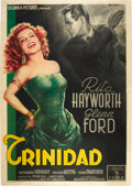 "Movie Posters:Film Noir, Affair in Trinidad (Columbia, 1952). Italian 4 - Folio (55"" X78"").. ..."