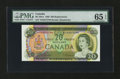 Canadian Currency: , BC-50aA 1969 $20. ...