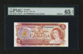 Canadian Currency: , BC-47a $2 1974 Solid 8's Serial Number. ...