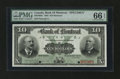 Canadian Currency: , Montreal, PQ- The Bank of Montreal $10 Jan. 2, 1904 Ch. # 505-48-04S Specimen. ...