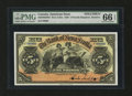 Canadian Currency: , Kingston, Jamaica- The Bank of Nova Scotia £5 Jan. 2, 1920 Ch. #550-38-02-08S Specimen. ...