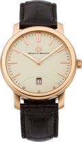 Timepieces:Wristwatch, Martin Braun Classic II Rose Gold Automatic Wristwatch, #023. ...