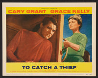 "To Catch a Thief (Paramount, 1955). Lobby Cards (2) (11"" X 14""). Hitchcock. ... (Total: 2 Items)"