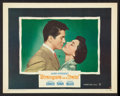 """Movie Posters:Hitchcock, Strangers on a Train (Warner Brothers, 1951). Lobby Cards (2) (11""""X 14""""). Hitchcock.. ... (Total: 2 Items)"""