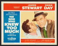 """The Man Who Knew Too Much (Paramount, 1956). Lobby Cards (2) (11"""" X 14""""). Hitchcock. ... (Total: 2 Items)"""