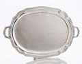 Silver & Vertu:Hollowware, A MEXICAN SILVER TRAY. Maker unidentified, circa 1930. Marks: (eagle 22), 3 SANBORNS MEXICO STERLING, LG 925 HECHO EN MEXI...