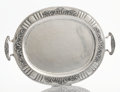 Silver Holloware, Mexican:Holloware, A MEXICAN SILVER TRAY. Platería Mendoza, Mexico City, Mexico, circa 1930. Marks: (eagle) MEXICO MENDOZA 900/1000 4-370. ...