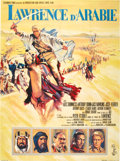 "Movie Posters:War, Lawrence of Arabia (Columbia, 1962). French Grande (47"" X 63"")....."