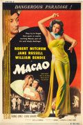 "Movie Posters:Film Noir, Macao (RKO, 1952). Poster (40"" X 60"").. ..."