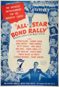 "Movie Posters:Short Subject, All-Star Bond Rally (War Activities Committee, 1945). Poster (40"" X 60"").. ..."