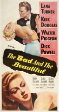 "Movie Posters:Drama, The Bad and the Beautiful (MGM, 1953). Three Sheet (41"" X 81"")....."